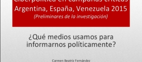 Ciberpolítica en campañas críticas: Argentina, España y Venezuela 2015
