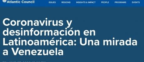 Coronavirus y desinformación en Latinoamérica